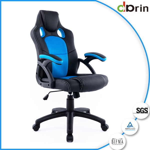 Comfortable leather racing seat office chair for sale