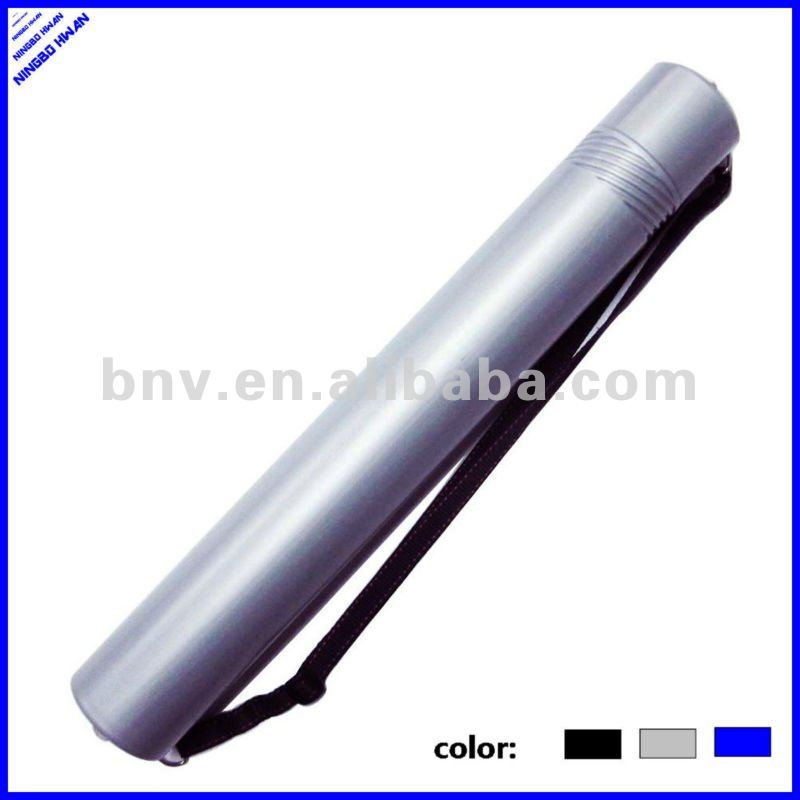 Plastic drawing storage tube plastic map tube