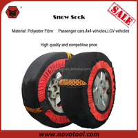 Hot Sale New Design For 2015 Passenger Cars 4x4 Vehicles Polyester Fibre Car Tire Chains Snow Socks