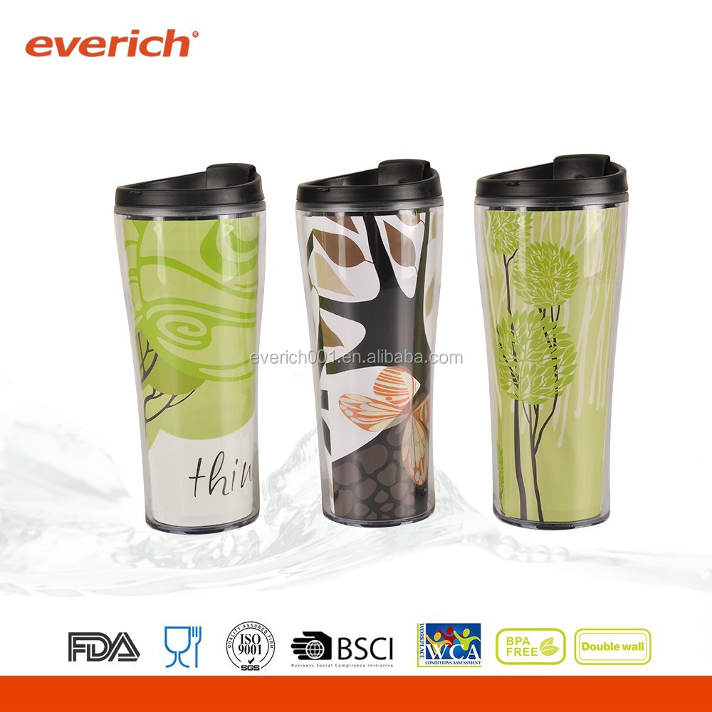 Hot Selling custom cheap tumbler cup with lid