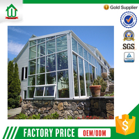 Commercial good quality sunrooms glass houses
