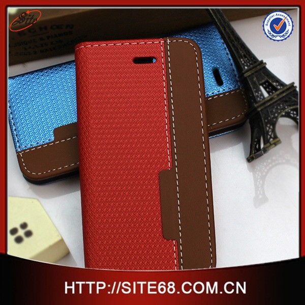 PC+PU flip leather Chinese cell covers for iphone 5 5S