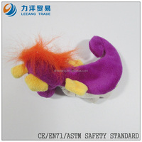 Plush finger puppets(sea horse), Customised toys,CE/ASTM safety stardard