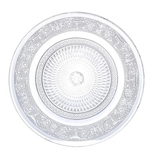 <strong>Plates</strong> glass For Fruit round shape dishes factory price Nuns Desert Guests glass fruit <strong>plates</strong>