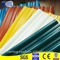 Any color cheap galvanized sheet metal roofing for sale