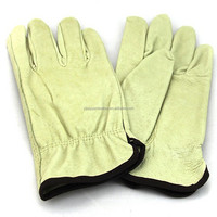 Pig skin driving gloves for drivers