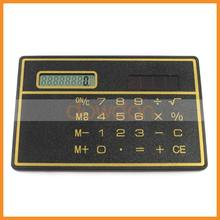 13g super thin Solar Pocket Calculator, Cheap Solar Powered Calculator