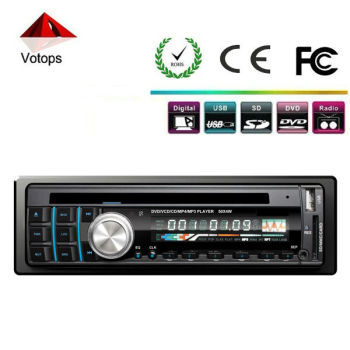 2013 new portable one din car dvd player detachable panel car audio