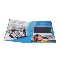 5 Inch Hardcover LCD Digital Greeting Video Brochure Card