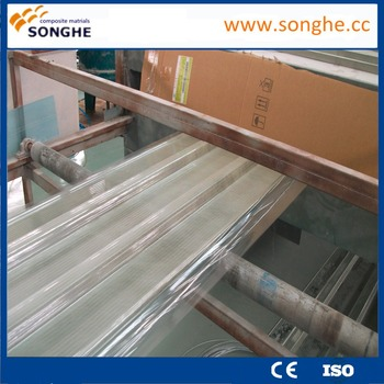 Corrugated roofing sheet production line