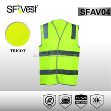 AS/NZS Safety Work Uniform Traffic Warning Clothing vests waistcoats Cheap Reflective Vests