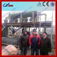 2014 waste to fuel oil tyre pyrolysis plant to diesel