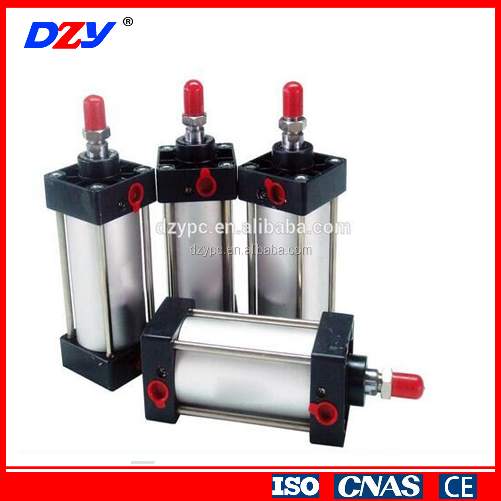 aluminum adjustable stroke double acting pneumatic cylinder price