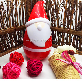 Portable Stereo Wireless Speaker, Wireless Santa Claus Tumbler Speaker, Christmas Gifts for kids ,Party