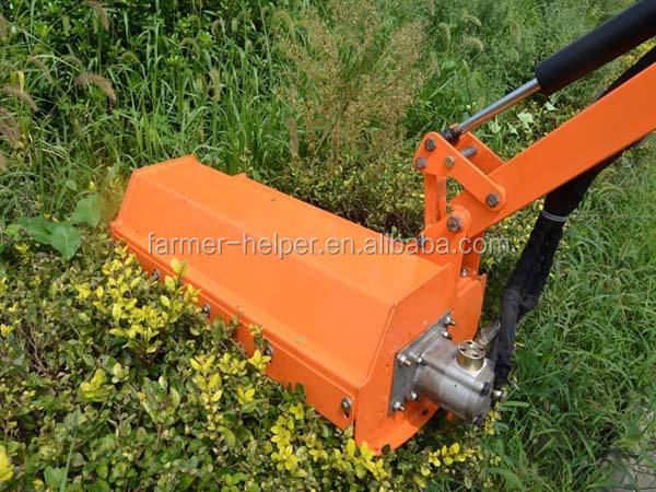 3 Point Hedge Trimmer : Tractor flail mower verge brush cutter