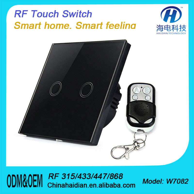 2018 433MHZ Z-WAVE ZIGBEE Remote Control Switch with CE RoHS FCC Certificate with top quality