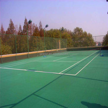 PP plastic Flooring for Indoor and Outdoor sports courts protective covering removable