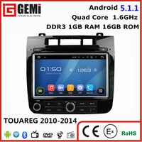 Cheap android gps navigation 7 inch with dvd 3g wifi Bluetooth for TOUAREG 2010 2014