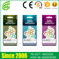 Custom Logo Absorbent Paper Car Paper Air Freshener Supplier