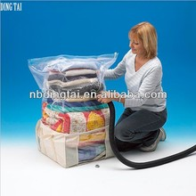 space saver storage bag,jumbo vacuum bag,reusable vacuum storage bag for clothing