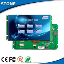 "7"" lcd character display wide voltage screen industrial automation touch control"