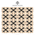 China wholesale customized geometric shape multiple marble inlay agra floor medallion