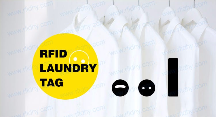 UHF RFID Laundry Tag for Hospital Uniforms Tracking Management