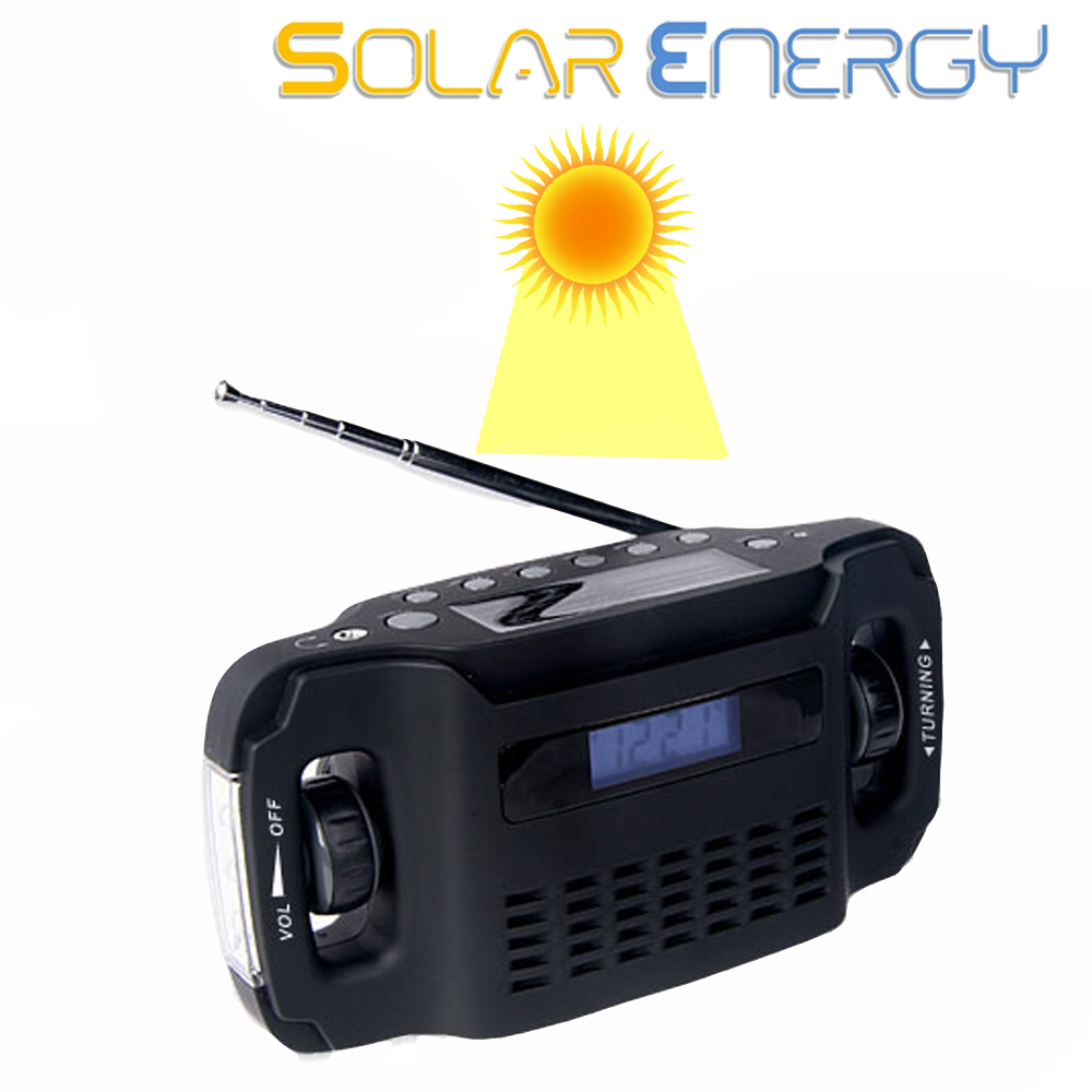 Usb solar digital radio with charge function