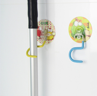 China Cheap Plastic Magnetic Broom And Mop Holder