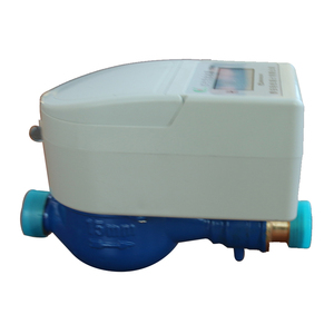 IC card contactless prepaid smart wire water meter