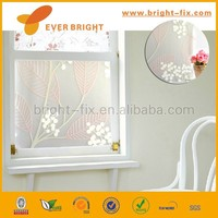smart electrostatic non-adhesive static window cling film