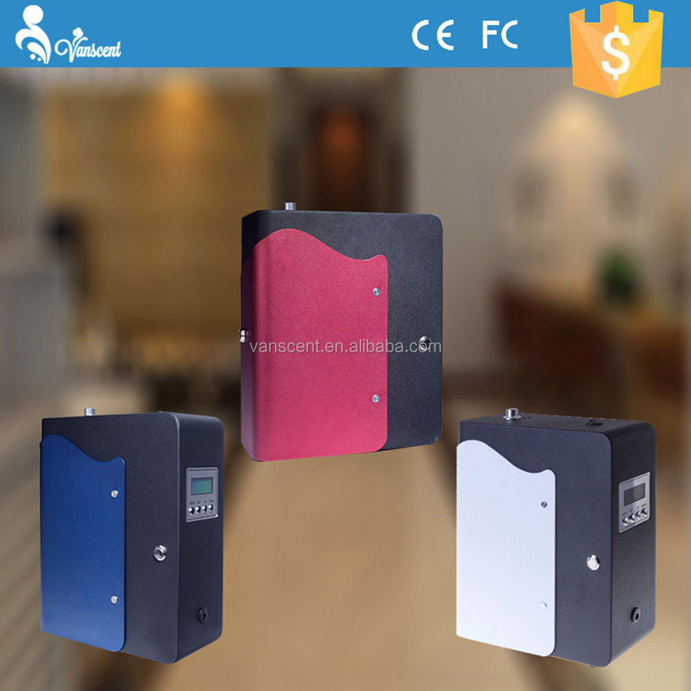 Colorful 300m3 Hotel Scent Dispenser,Commercial Aroma Diffuser,Fragrance Air Machine With Time Program