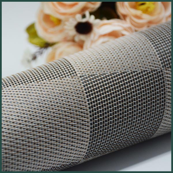 Office carpet kitchen heat-resistant mat woven plastic mat