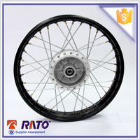 Often used for FT180,FT200 black steel motorcycle wheels for sale