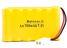 NI-CD AA 700mah 7.2V Rechargeable Battery Pack