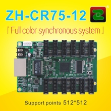 ZH Outdoor Video Led Display Sign Controller ZH-CR75-12 Synchronous Receiving Card