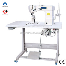 LM-323 single needle sewing machine with wheel and needle feed sewing machinesewing needle making machine
