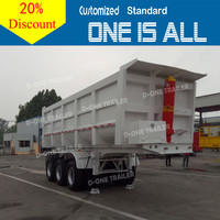 Made in China CIMC Tri-Axle Max Payload 80T Dump Truck for Sale