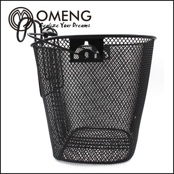 2015 high quality Bicycle front basket/bicycle accessory/baskets for bicycleSteel Basket