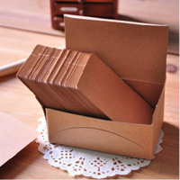 Retro graffiti card blank kraft paper card manufacturers manufacture color postcards word