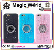 For Iphone 6 Watch Soft Cell Phone Cases
