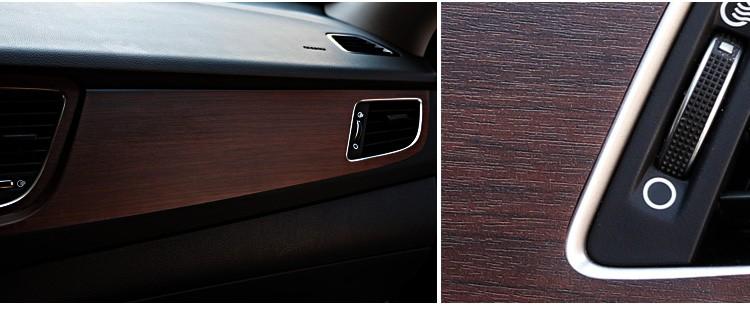 car decor modify car interior senior wood grain sticker 25 style change color vinyl decals buy. Black Bedroom Furniture Sets. Home Design Ideas