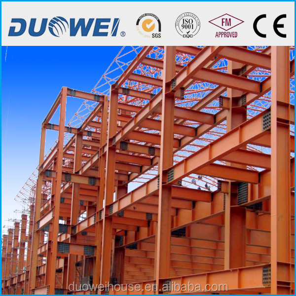 light & heavy steel structure workshop