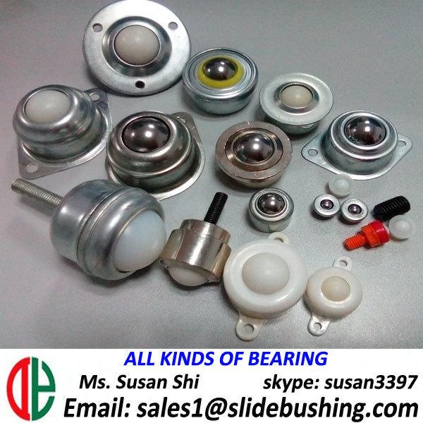 bearingless nylon roller steel ball caster table tennis parts sliding door roller bearings small ball bracelets mini ball caster