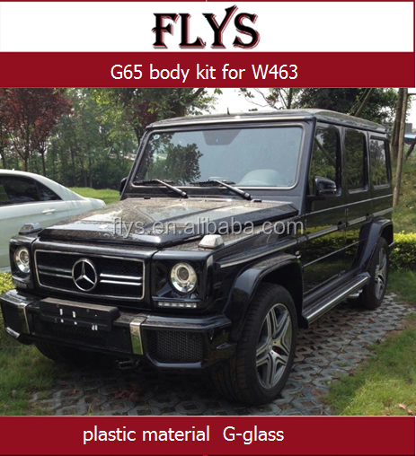 Auto tuning W463 G65 Body kit for G500, W463 G-Class G63/65 parts Original material Front bunper, rear bunper
