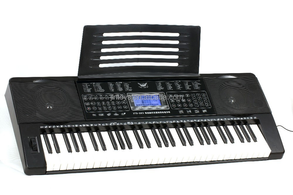Touch Control Electronic Keyboard