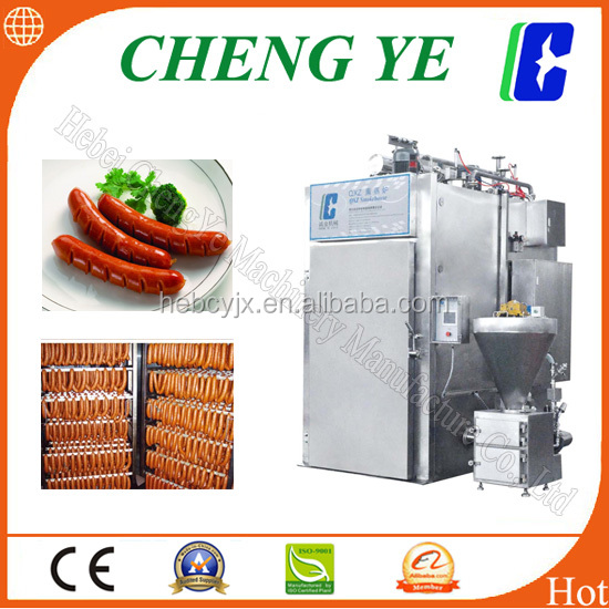 QXZ1/2 Smokehouse, Automatic meat smoking machine for red sausage