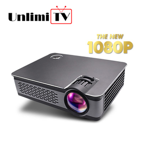 [Wholesale 2018 mini beamer] dvd hdmi led lcd mini tv box smart 4k big home cinema video theater projector 1080p