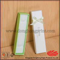 Latest design hair extension packaging paper box