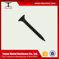 Black self tapping drywall screw motorcycle